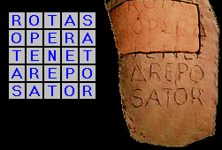 Latinski kvadrat in rimljani