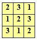 Sudoku - preprost primer 3