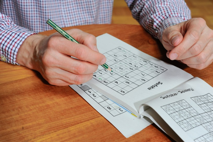 Sudoku - matematični problem